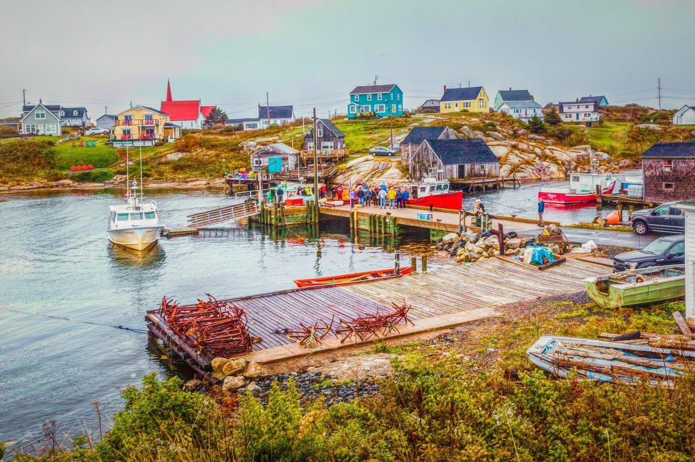 加拿大佩吉海湾(Peggys Cove),渔村生活_图1-4