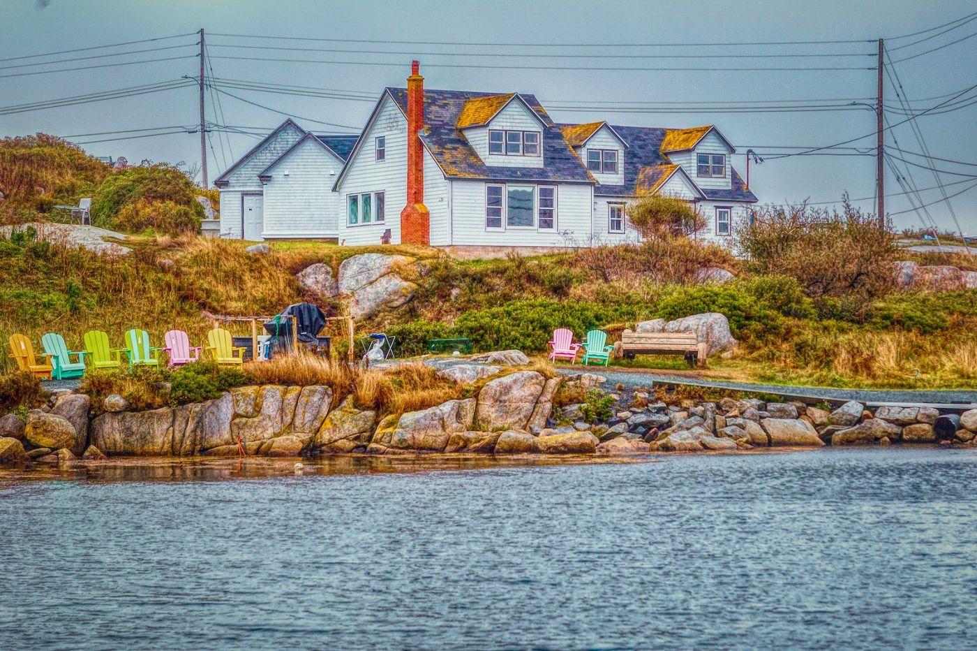 加拿大佩吉海湾(Peggys Cove),渔村生活_图1-3