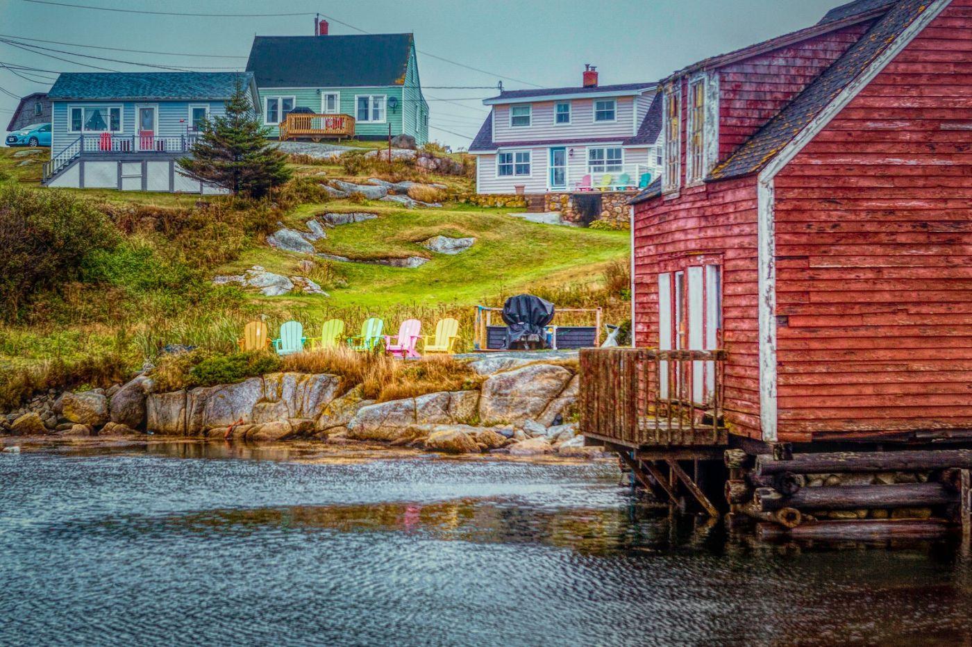 加拿大佩吉海湾(Peggys Cove),渔村生活_图1-2