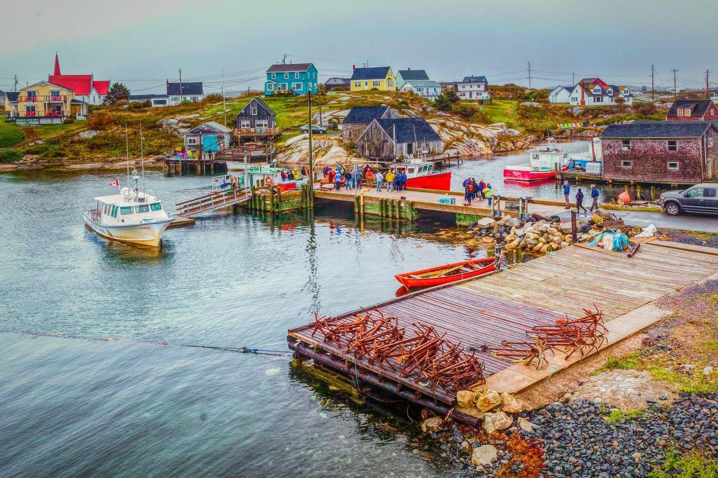 加拿大佩吉海湾(Peggys Cove),渔村生活_图1-1