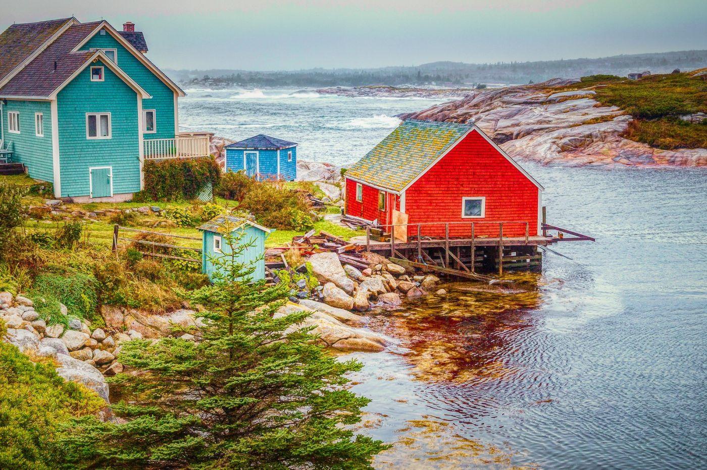 加拿大佩吉海湾(Peggys Cove),渔村生活_图1-5