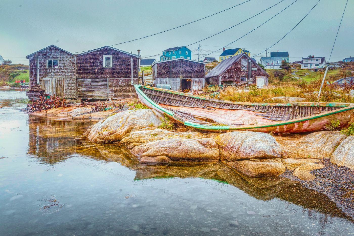 加拿大佩吉海湾(Peggys Cove),渔村生活_图1-6