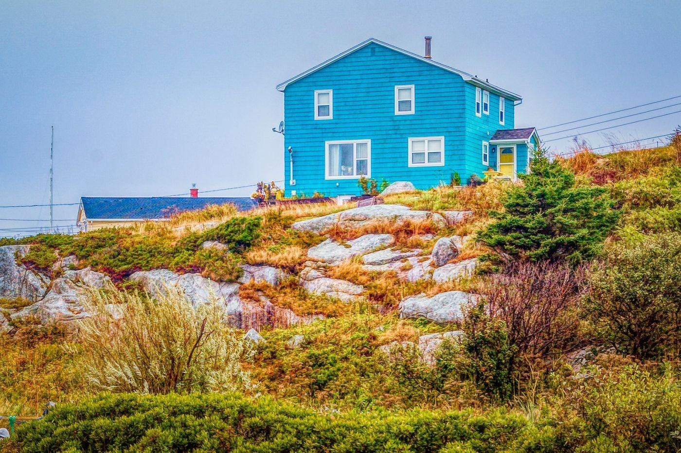 加拿大佩吉海湾(Peggys Cove),渔村生活_图1-7