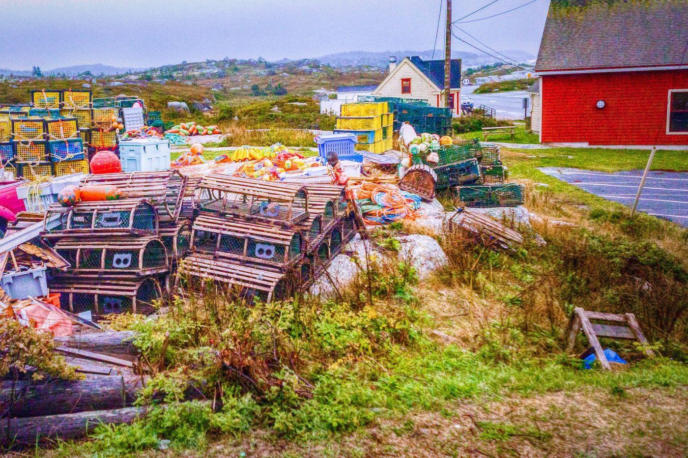 加拿大佩吉海湾(Peggys Cove),渔村生活_图1-8