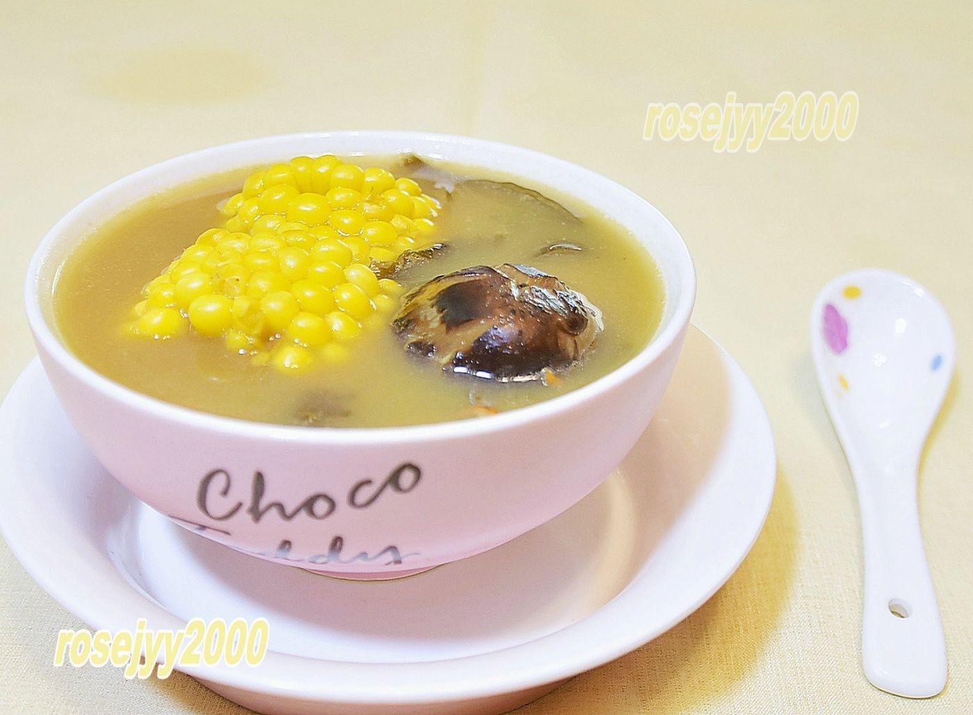 猪骨海苔玉米汤_图1-1