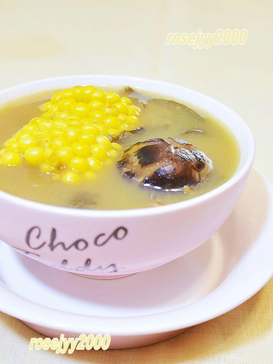 猪骨海苔玉米汤_图1-3