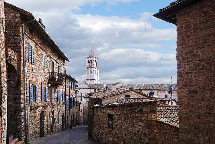 卡布奇诺风格的圣城---阿西西_图1-4