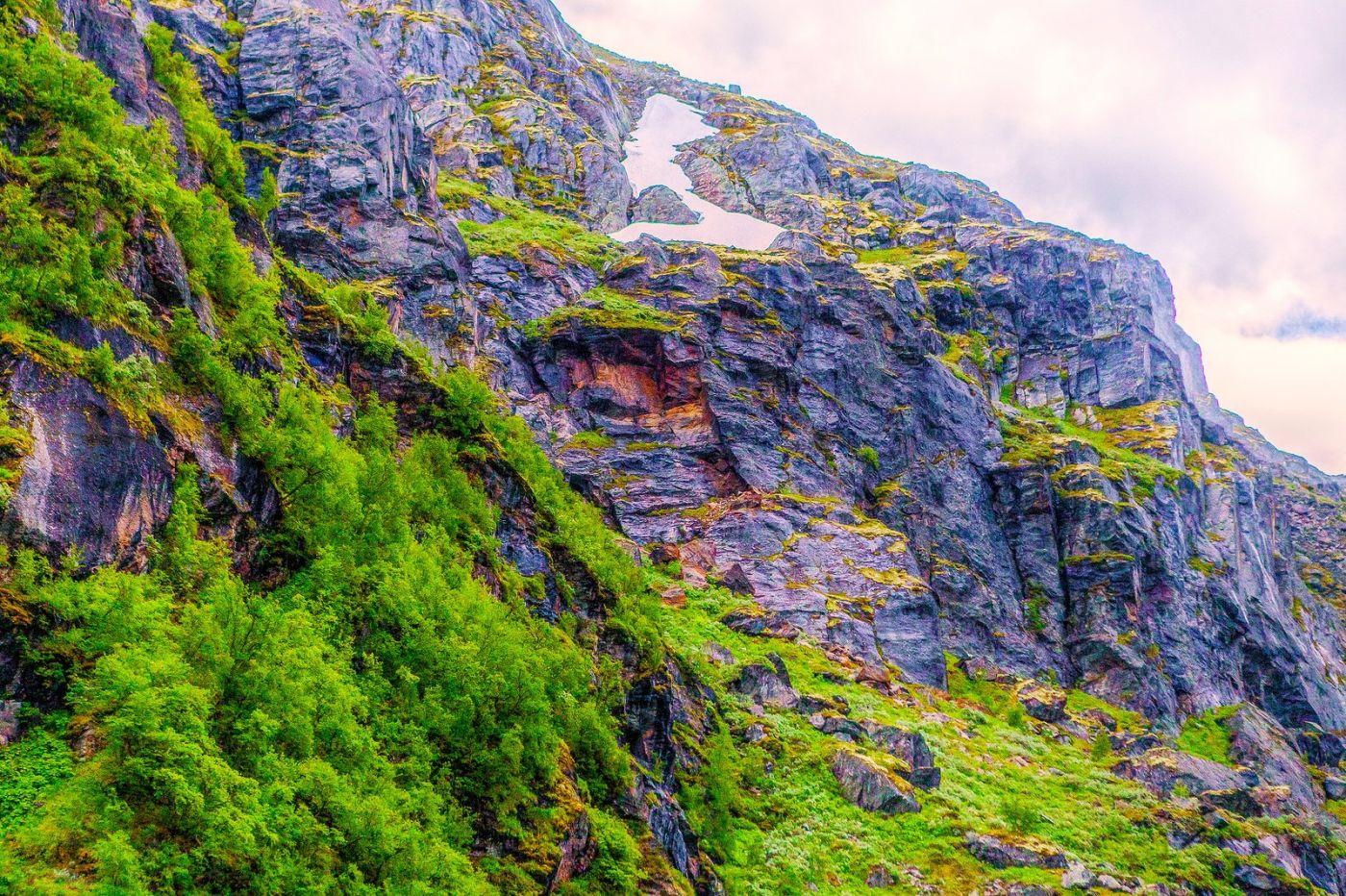 北欧风光,高山残雪_图1-37