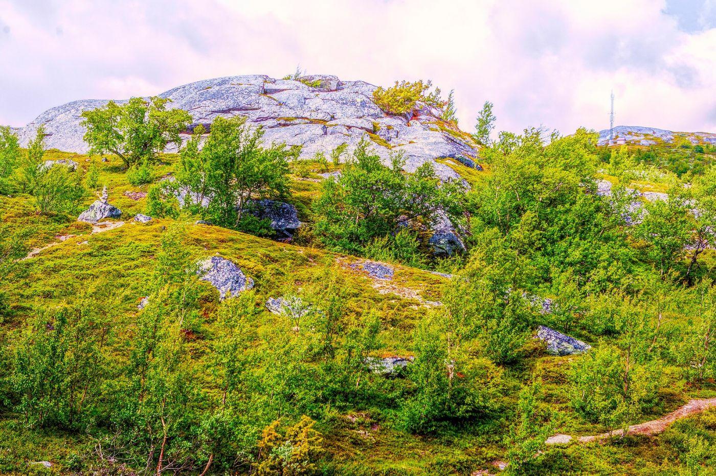 北欧风光,高山残雪_图1-12