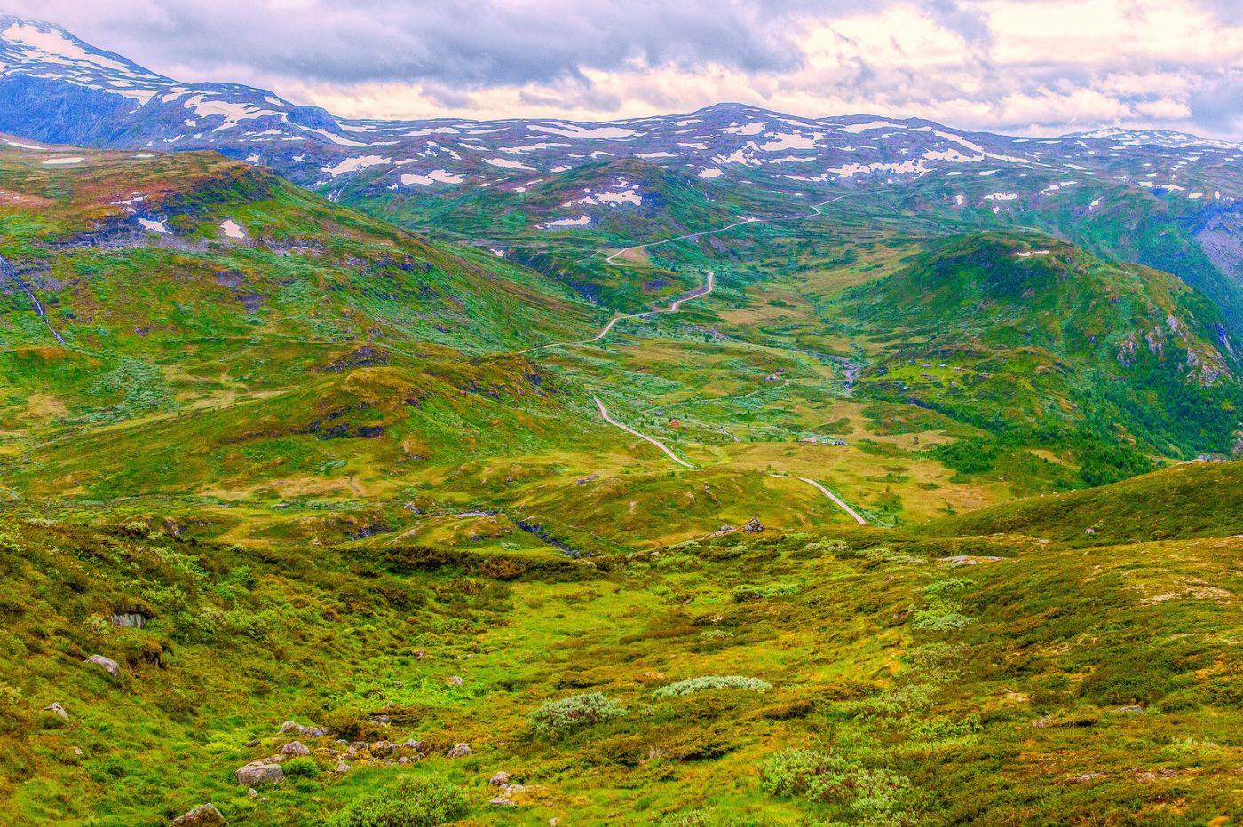 北欧风光,高山残雪_图1-11