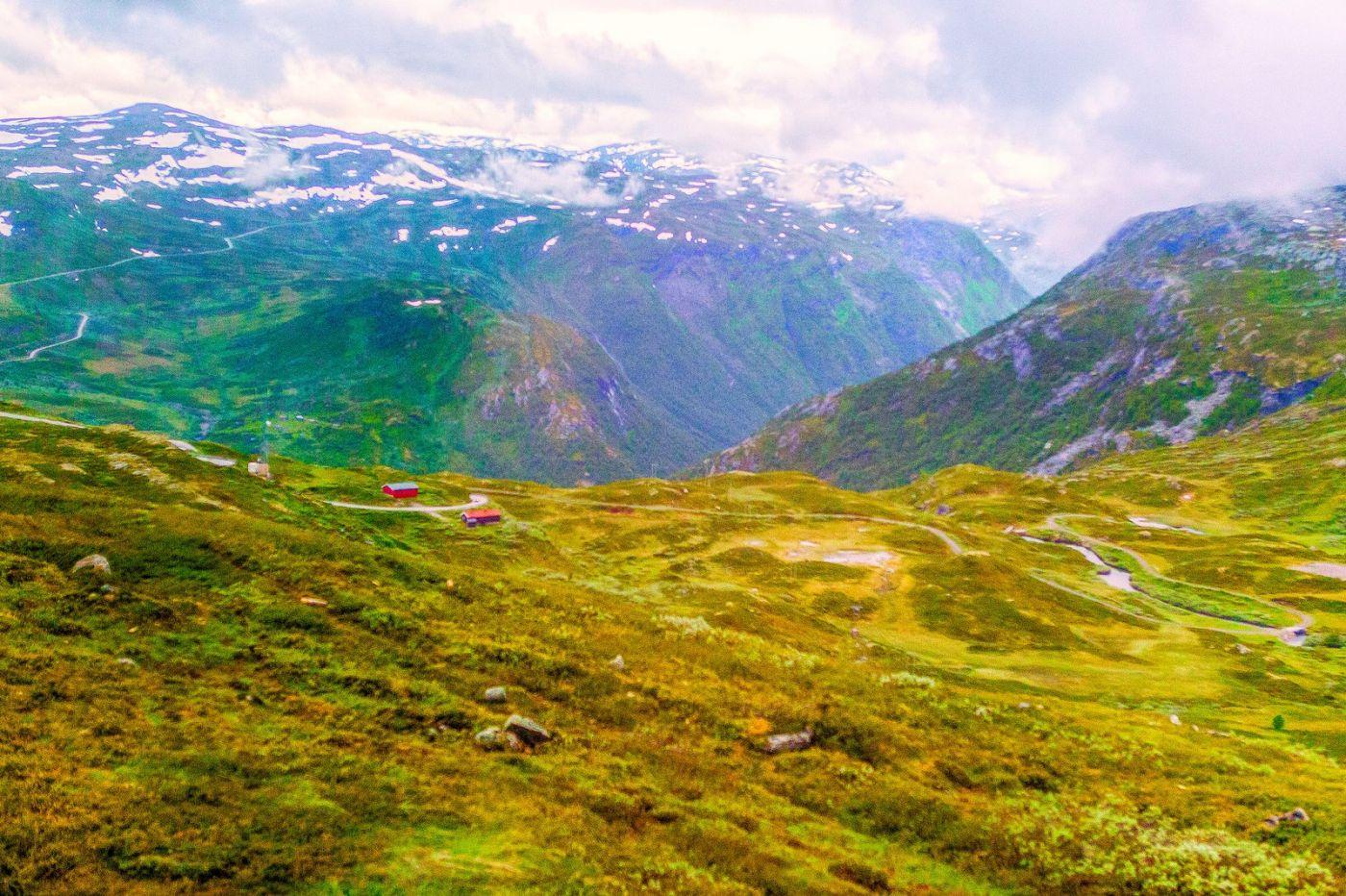 北欧风光,高山残雪_图1-14