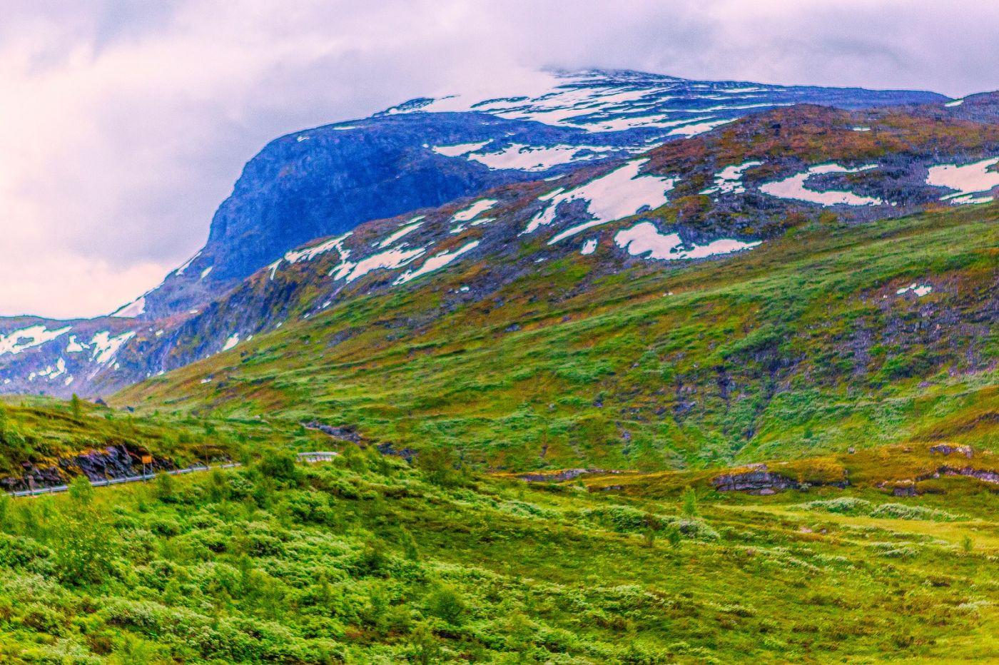 北欧风光,高山残雪_图1-22