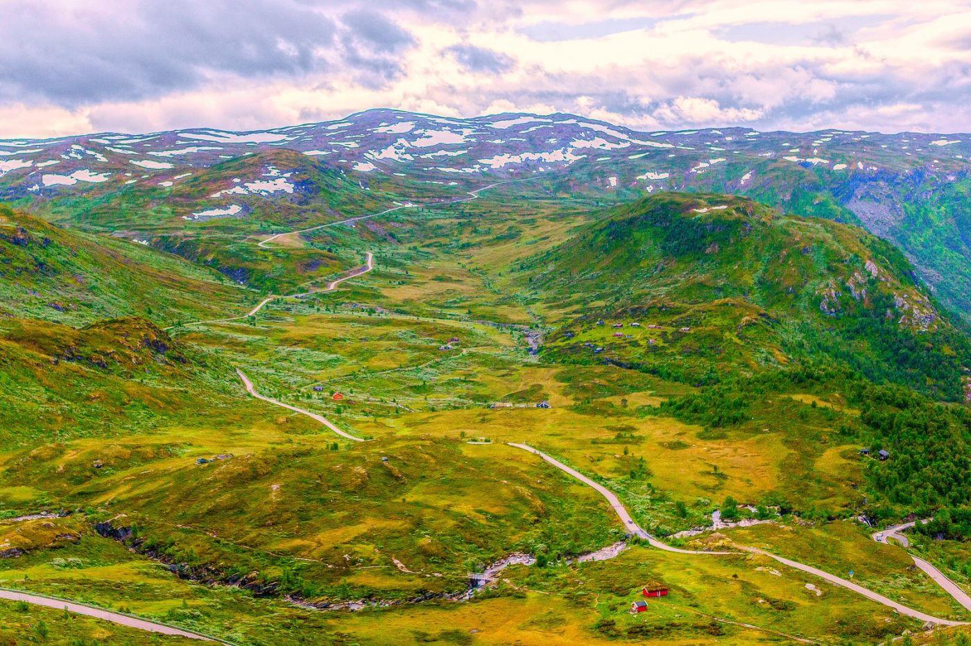 北欧风光,高山残雪_图1-26