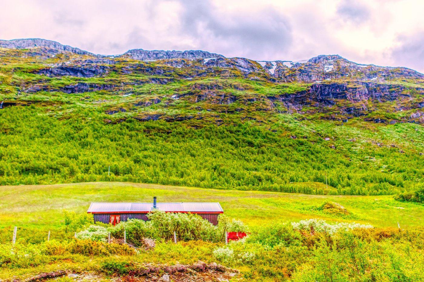 北欧风光,高山残雪_图1-25