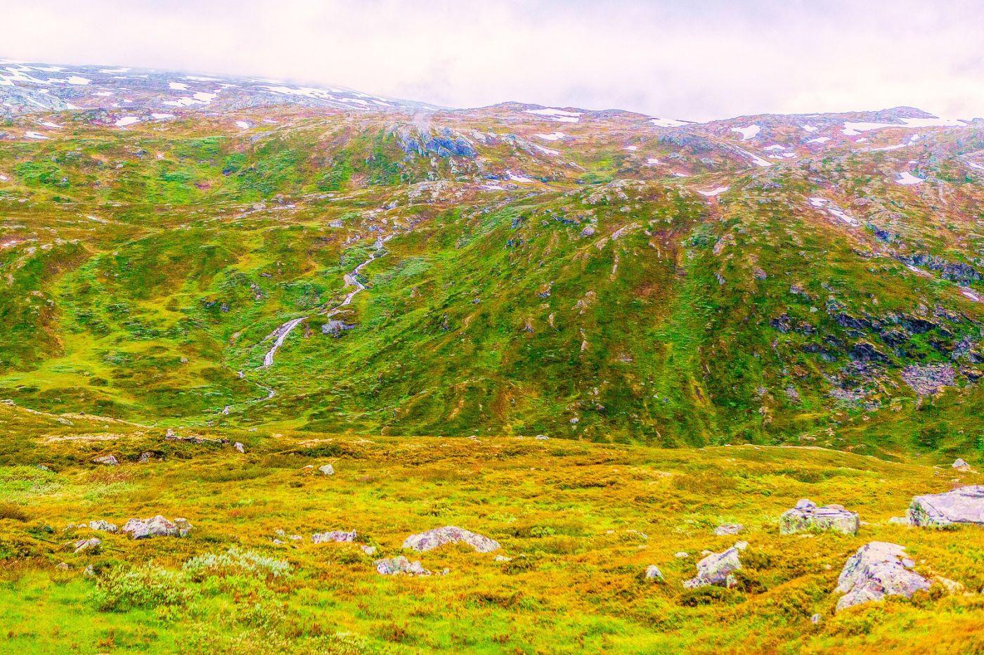 北欧风光,高山残雪_图1-30