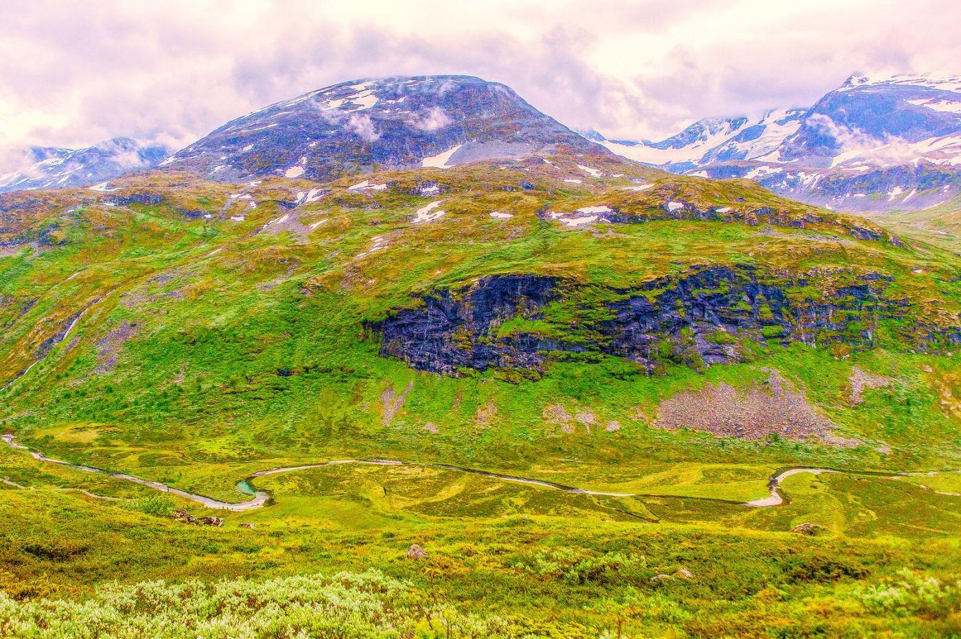 北欧风光,高山残雪_图1-36