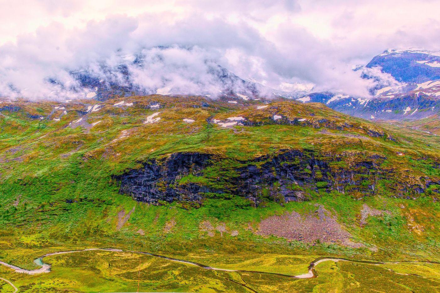 北欧风光,高山残雪_图1-35