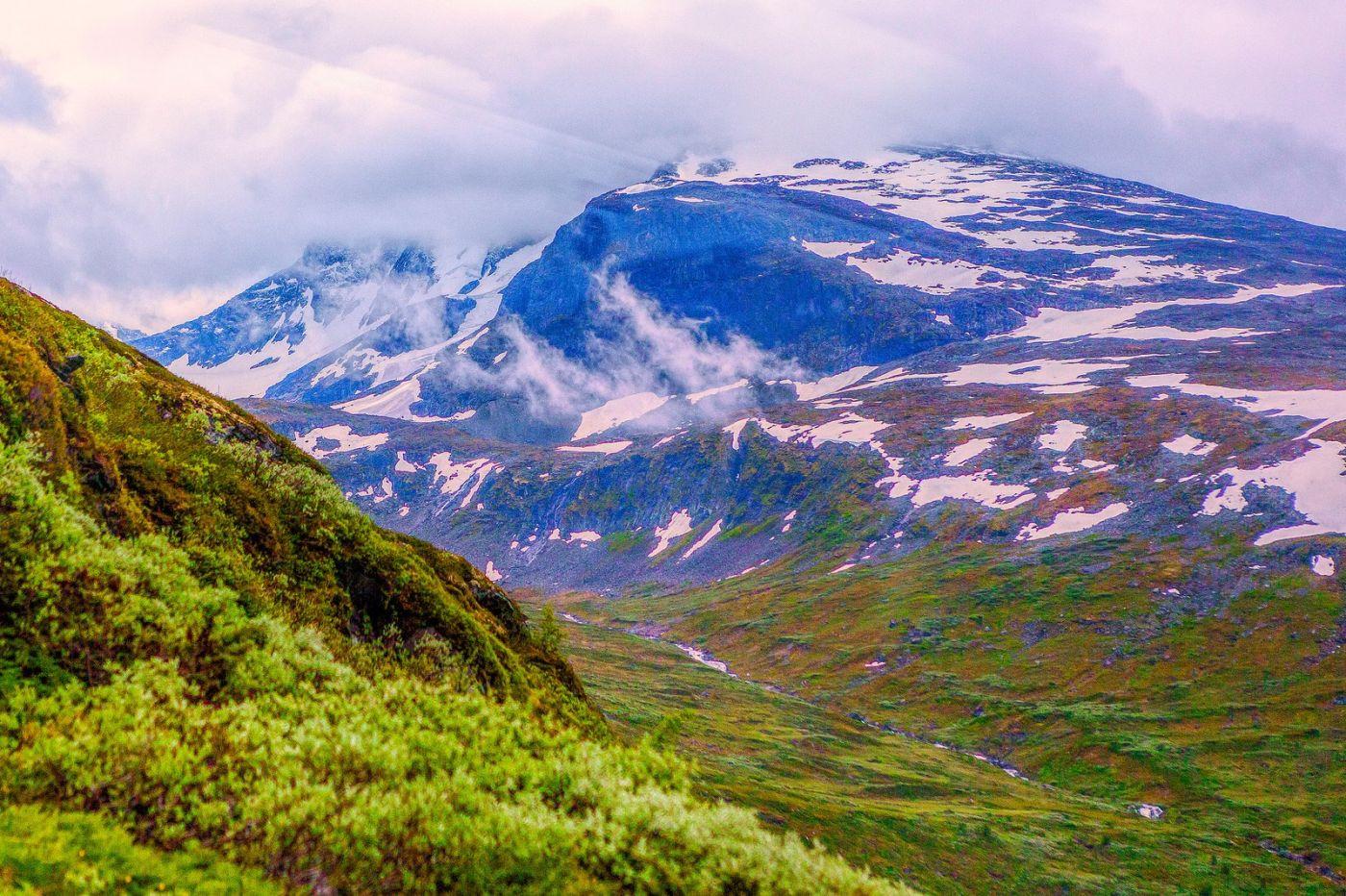 北欧风光,高山残雪_图1-34