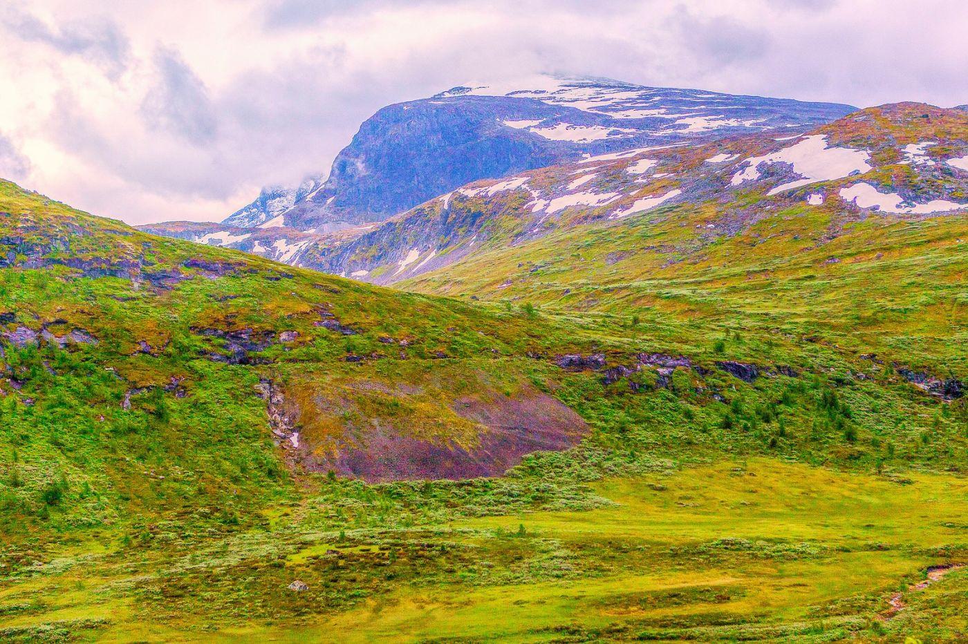北欧风光,高山残雪_图1-33