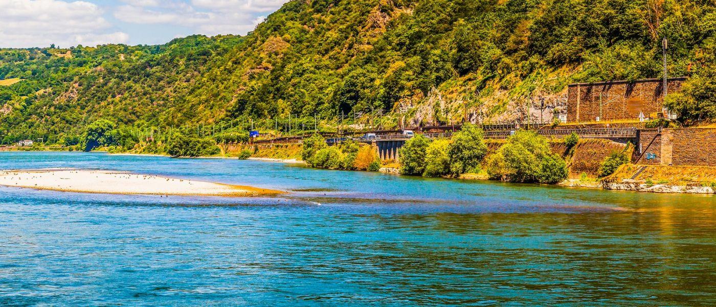 畅游莱茵河,站船头看两岸_图1-33