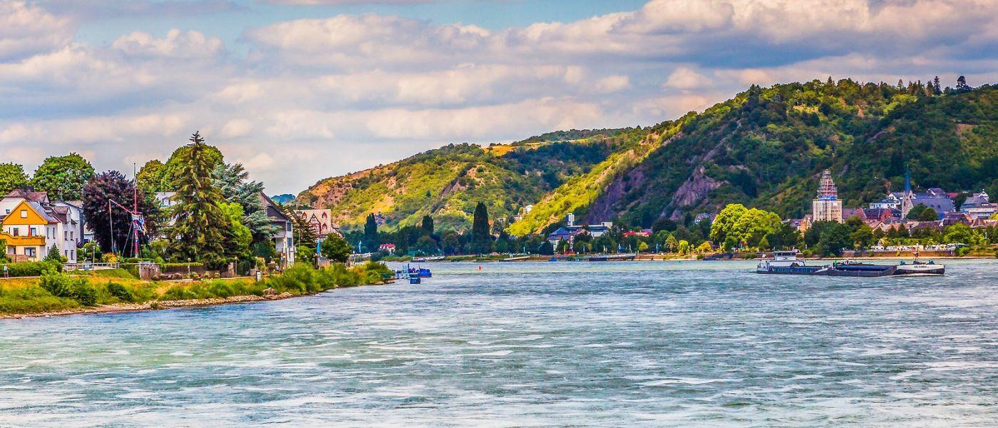 畅游莱茵河,站船头看两岸_图1-24