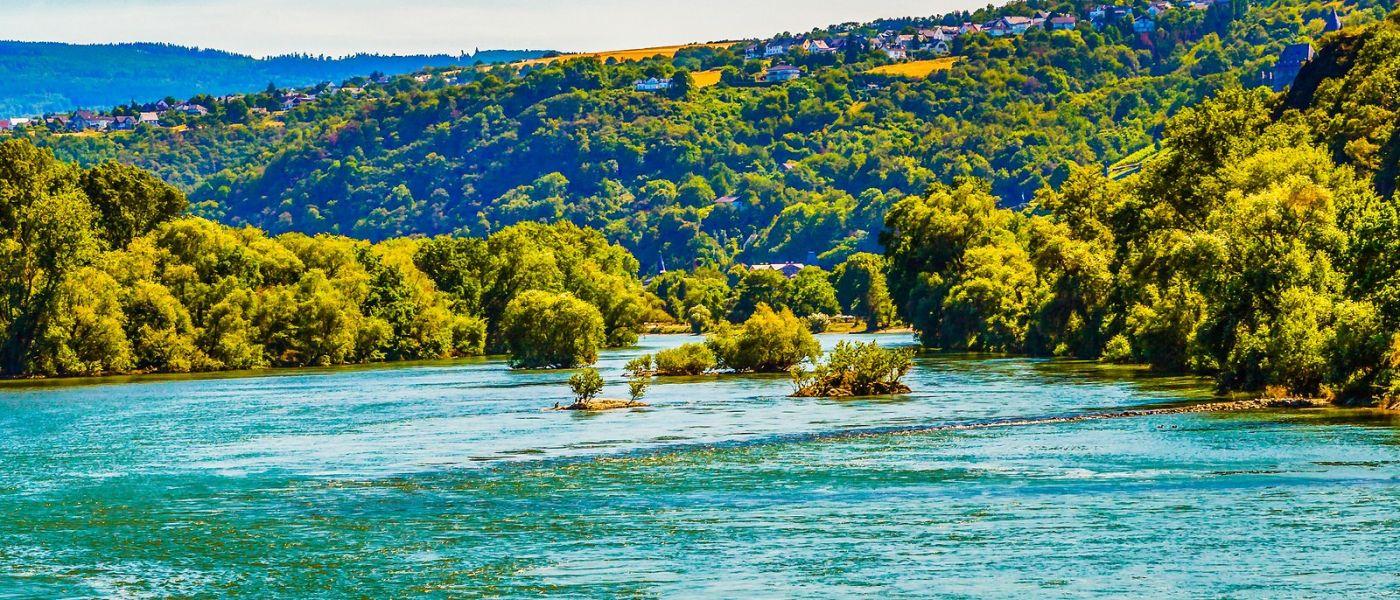 畅游莱茵河,站船头看两岸_图1-16