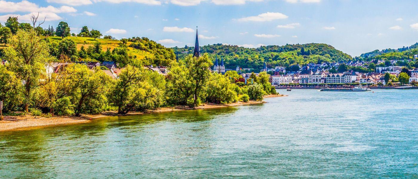 畅游莱茵河,站船头看两岸_图1-6