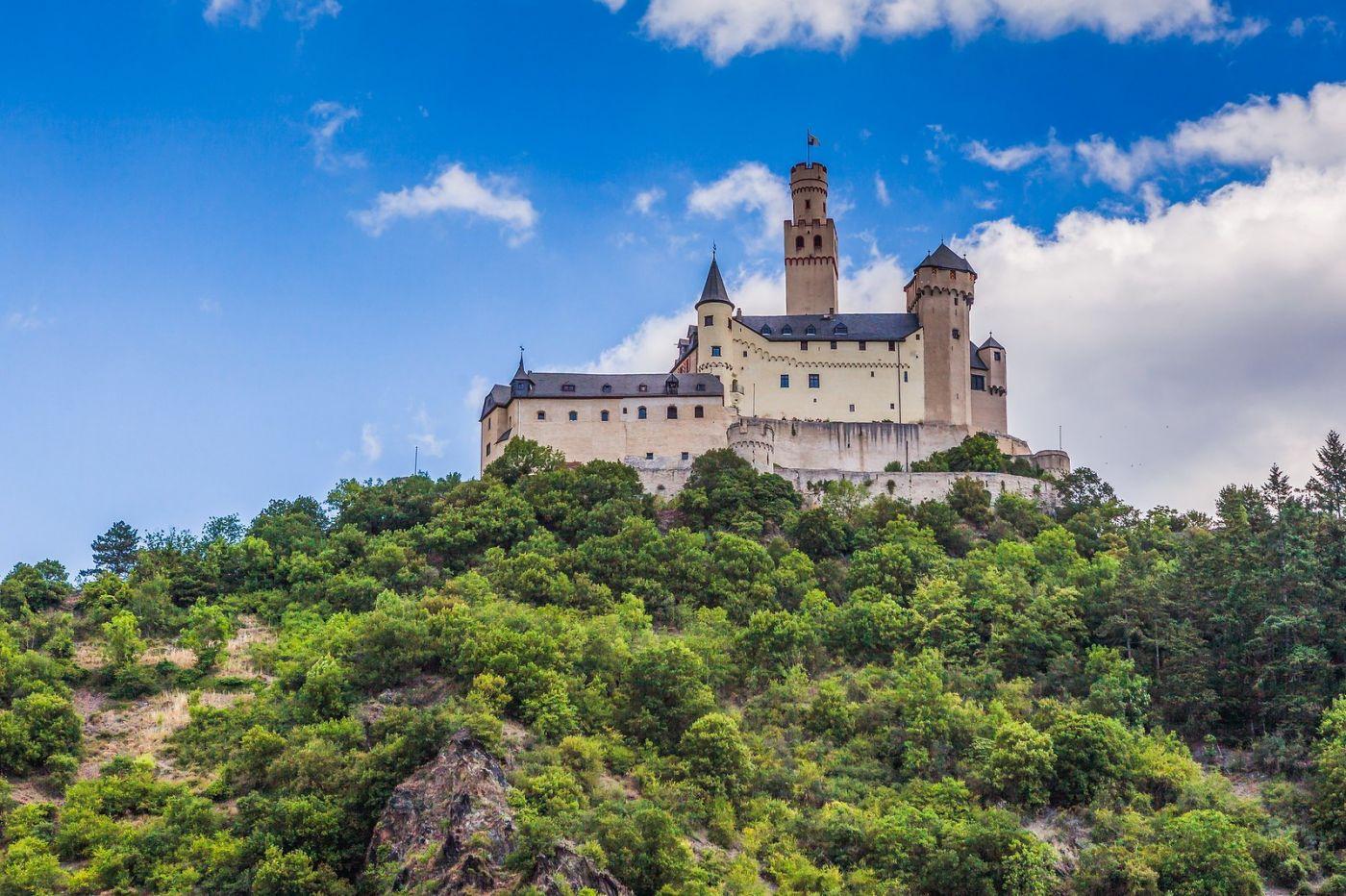 畅游莱茵河,山腰间的城堡_图1-3