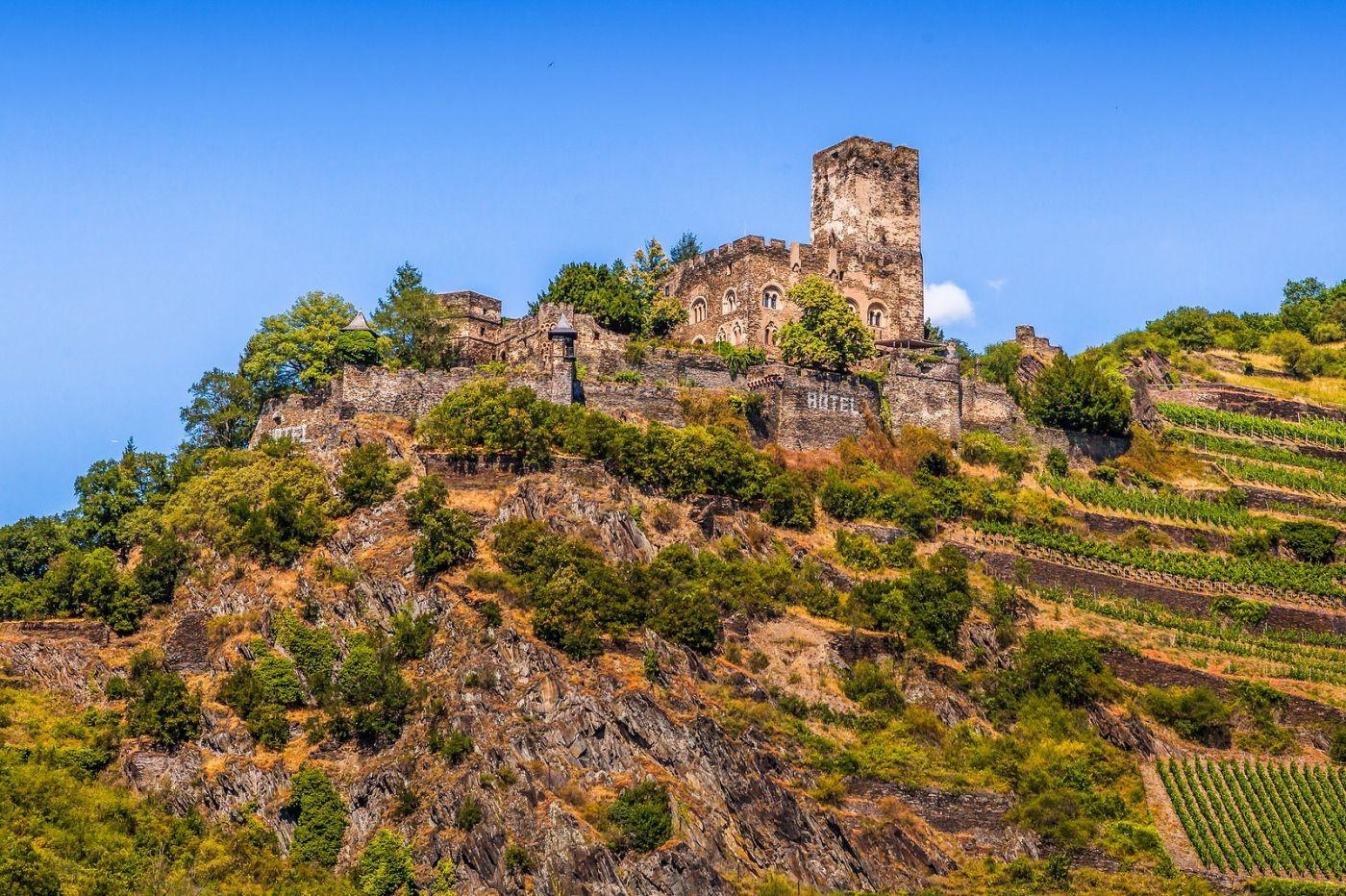 畅游莱茵河,山腰间的城堡_图1-2