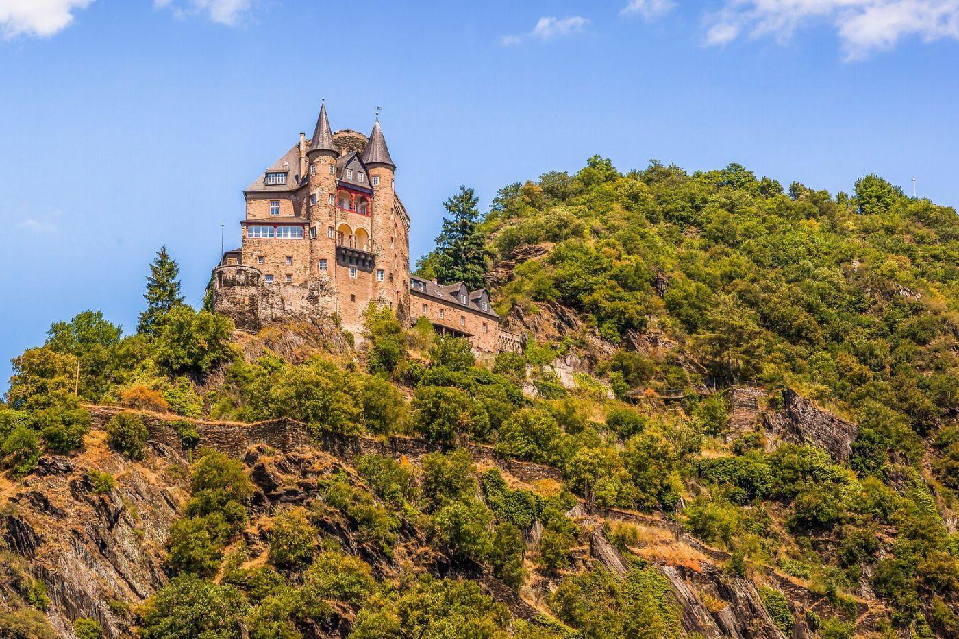 畅游莱茵河,山腰间的城堡_图1-4