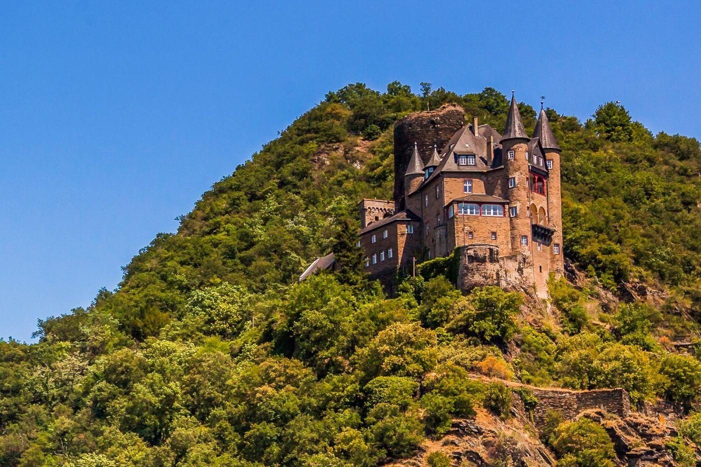 畅游莱茵河,山腰间的城堡_图1-5