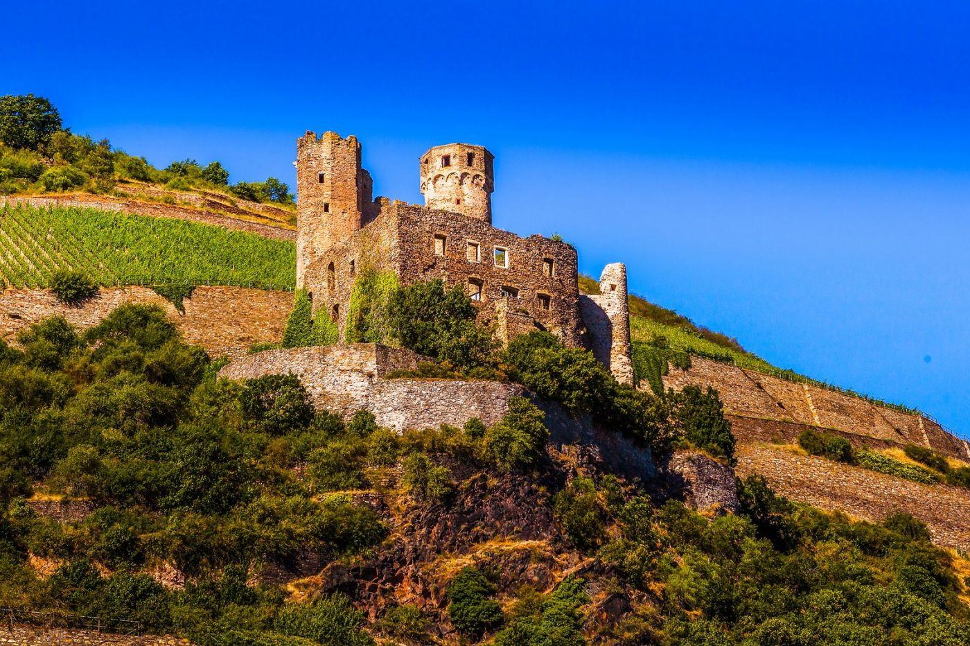 畅游莱茵河,山腰间的城堡_图1-1