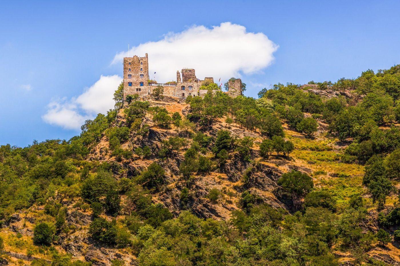畅游莱茵河,山腰间的城堡_图1-6