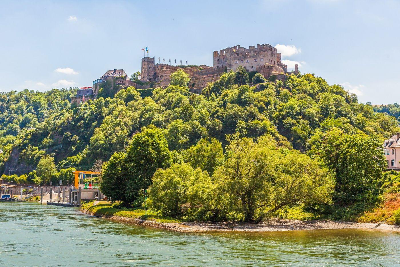 畅游莱茵河,山腰间的城堡_图1-9