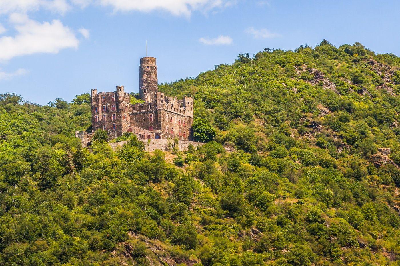 畅游莱茵河,山腰间的城堡_图1-8
