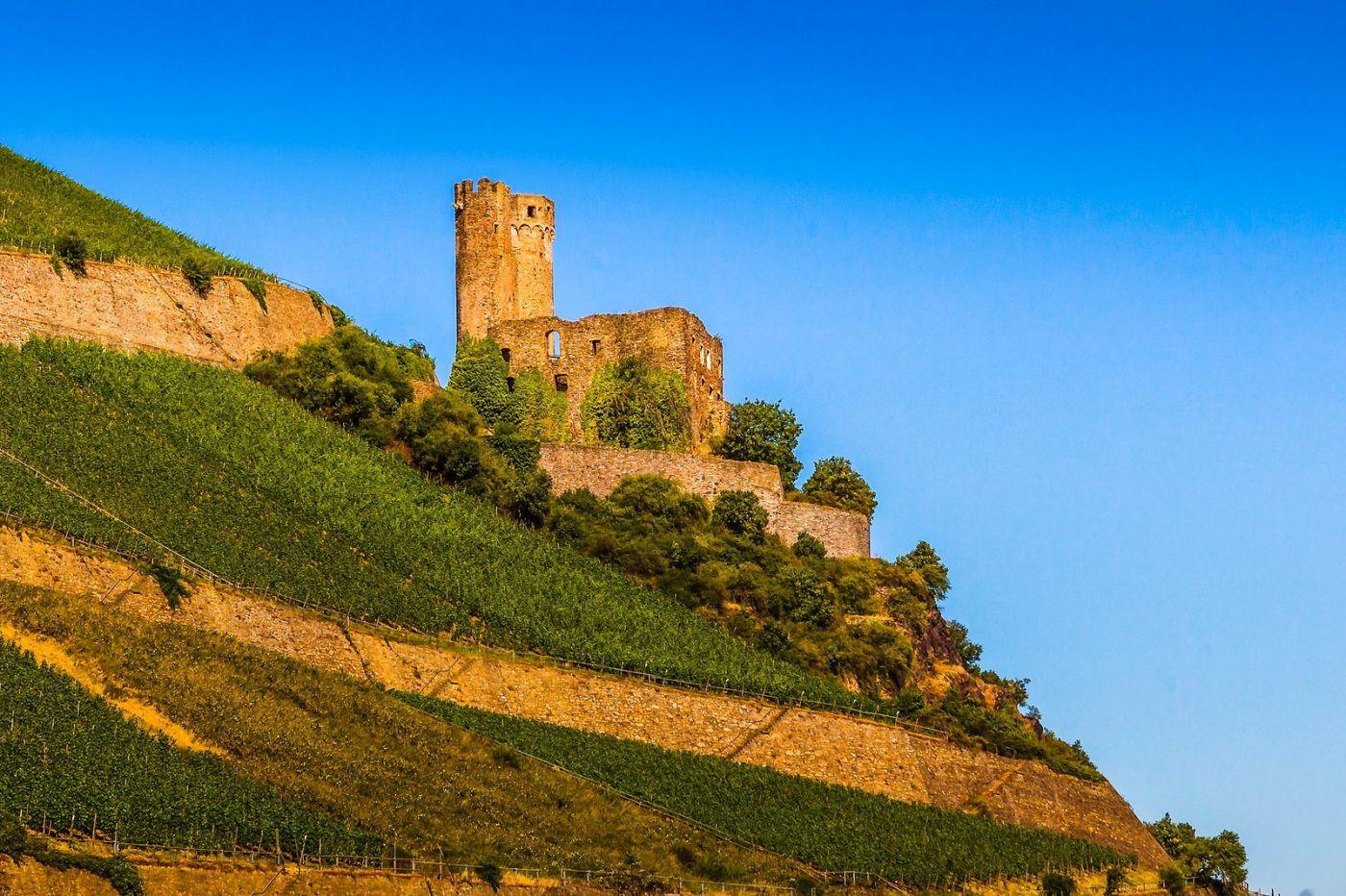 畅游莱茵河,山腰间的城堡_图1-11