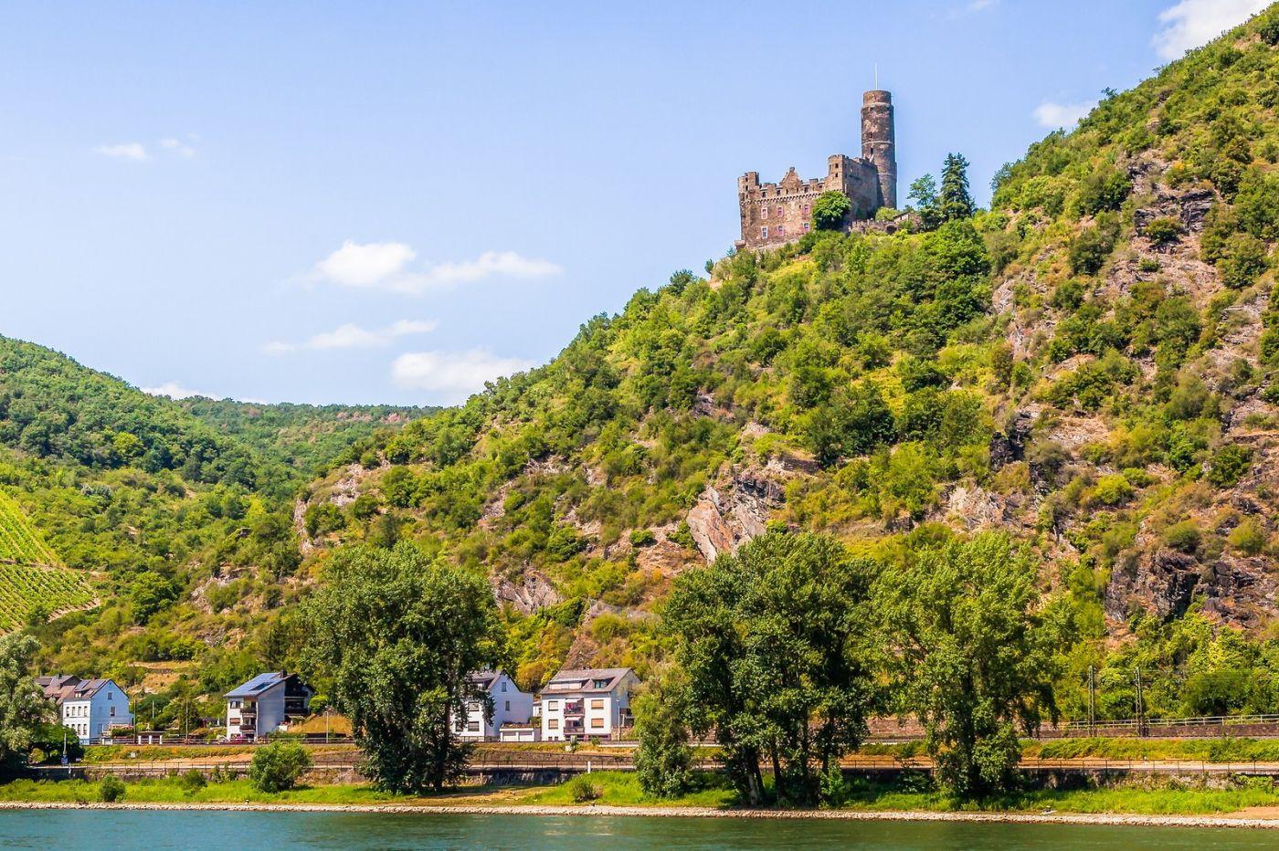 畅游莱茵河,山腰间的城堡_图1-10