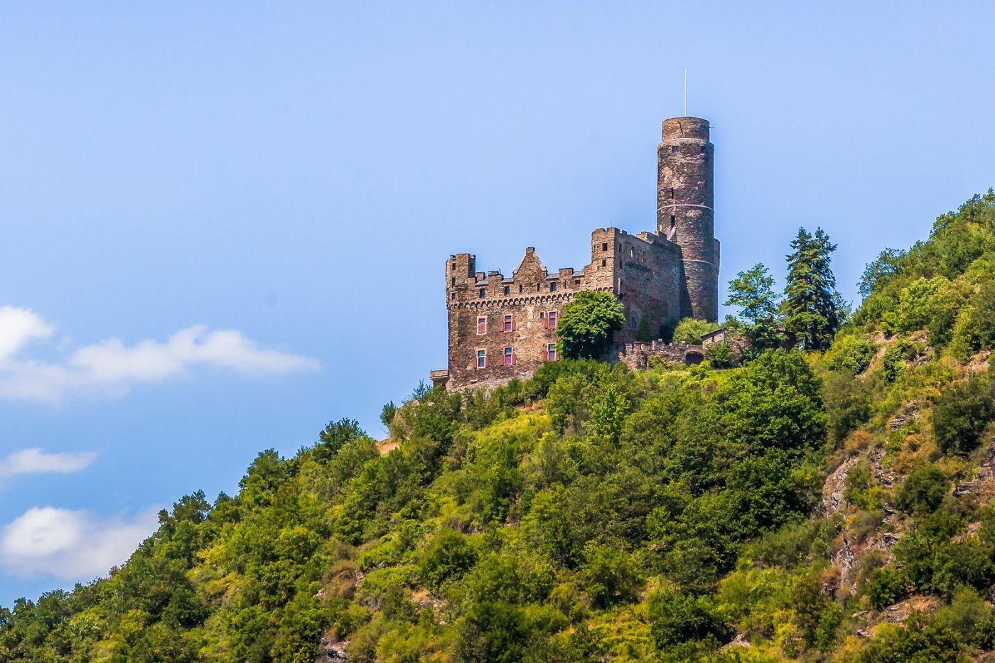 畅游莱茵河,山腰间的城堡_图1-15
