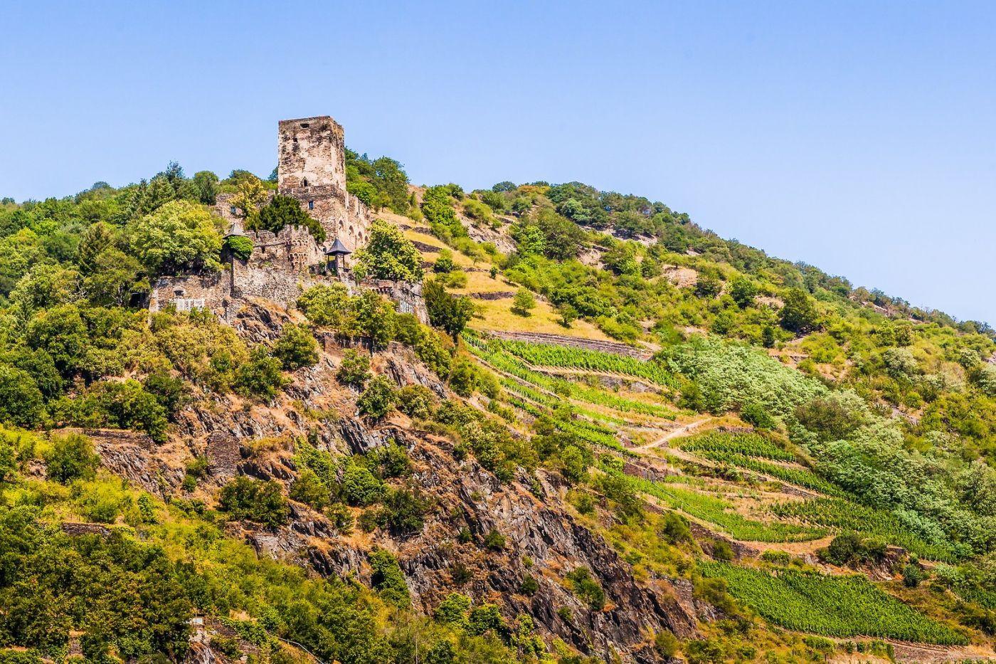 畅游莱茵河,山腰间的城堡_图1-17