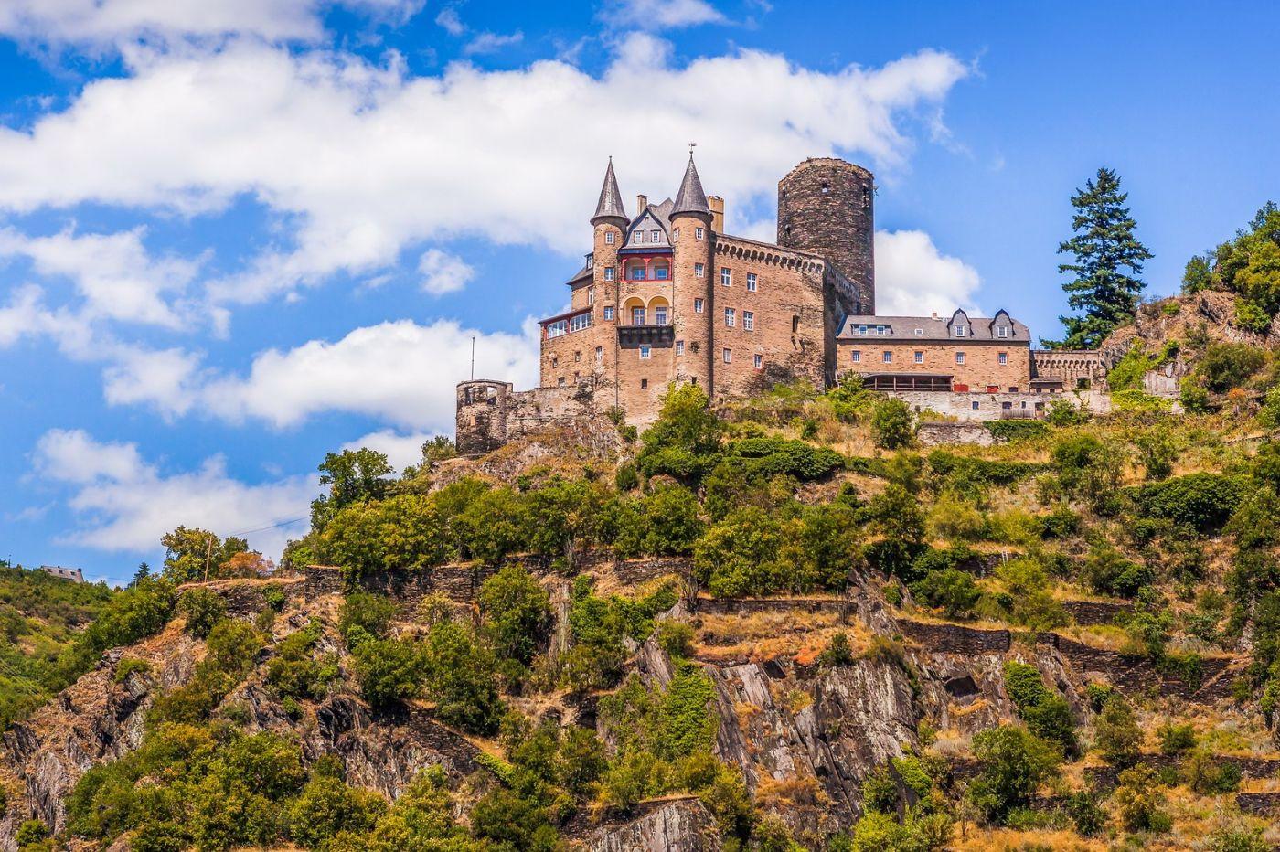 畅游莱茵河,山腰间的城堡_图1-18