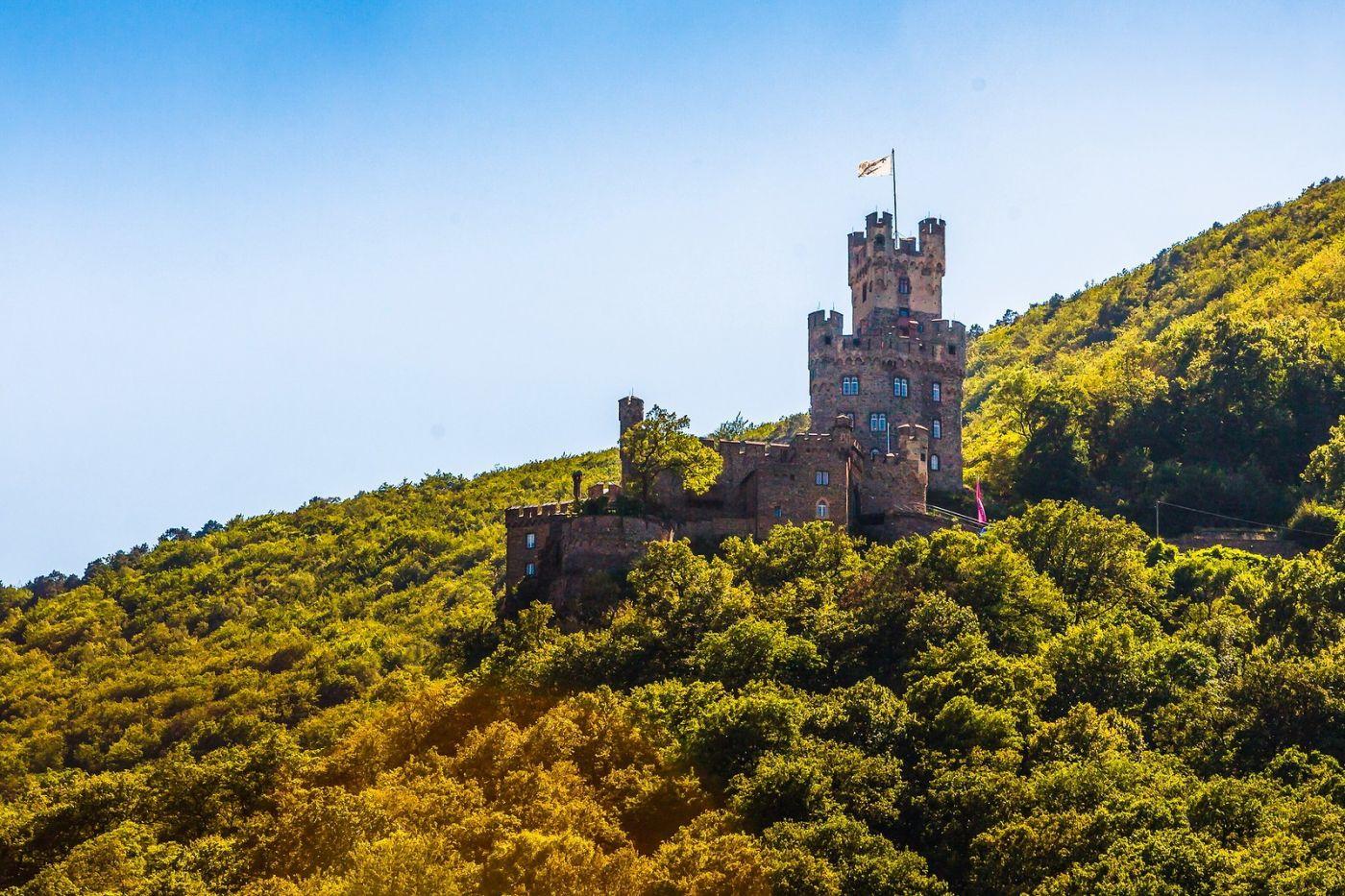 畅游莱茵河,山腰间的城堡_图1-20