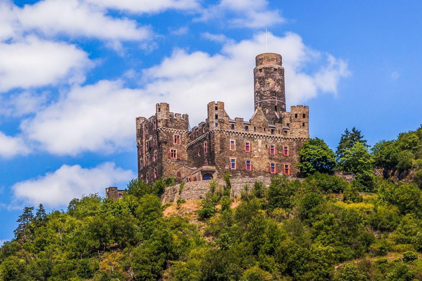 畅游莱茵河,山腰间的城堡_图1-19