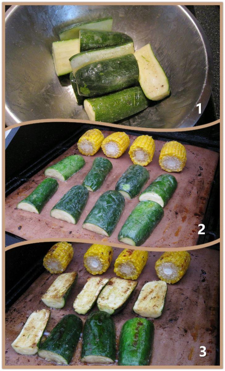 Charcoal Grill 木炭烧烤西葫芦(Zucchini )_图1-2