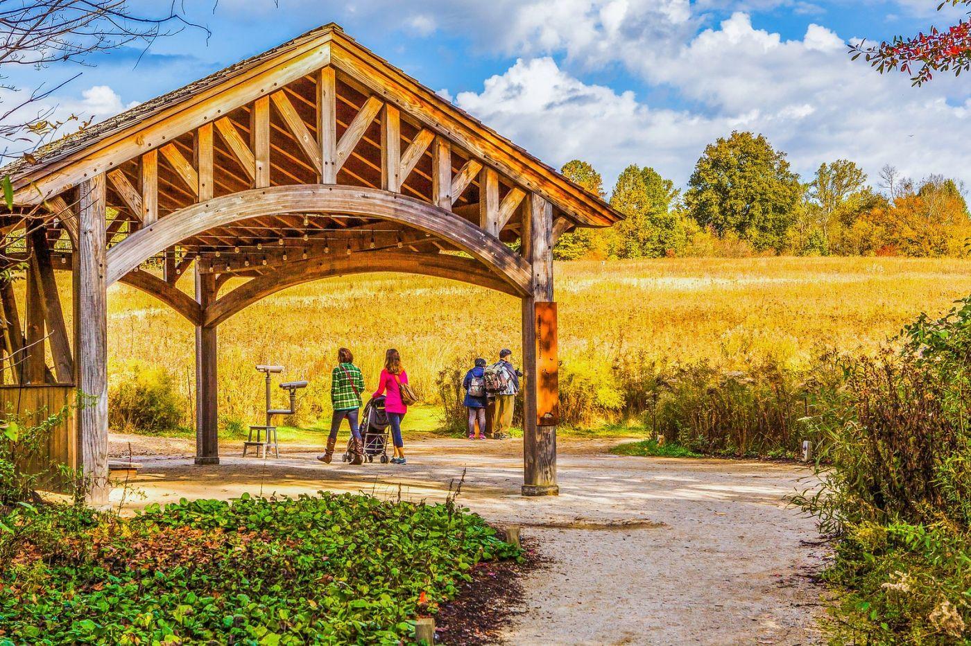 宾州长木公园,熟悉的景色_图1-1