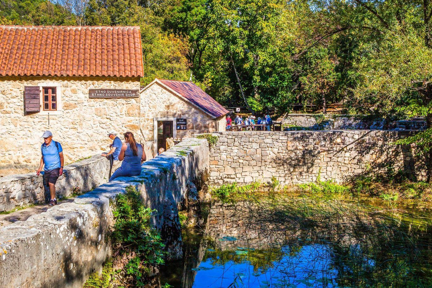 克罗地亚克尔卡国家公园(Krka National Park),小桥小路小房_图1-39