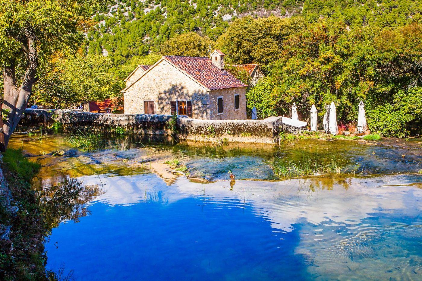 克罗地亚克尔卡国家公园(Krka National Park),小桥小路小房_图1-25