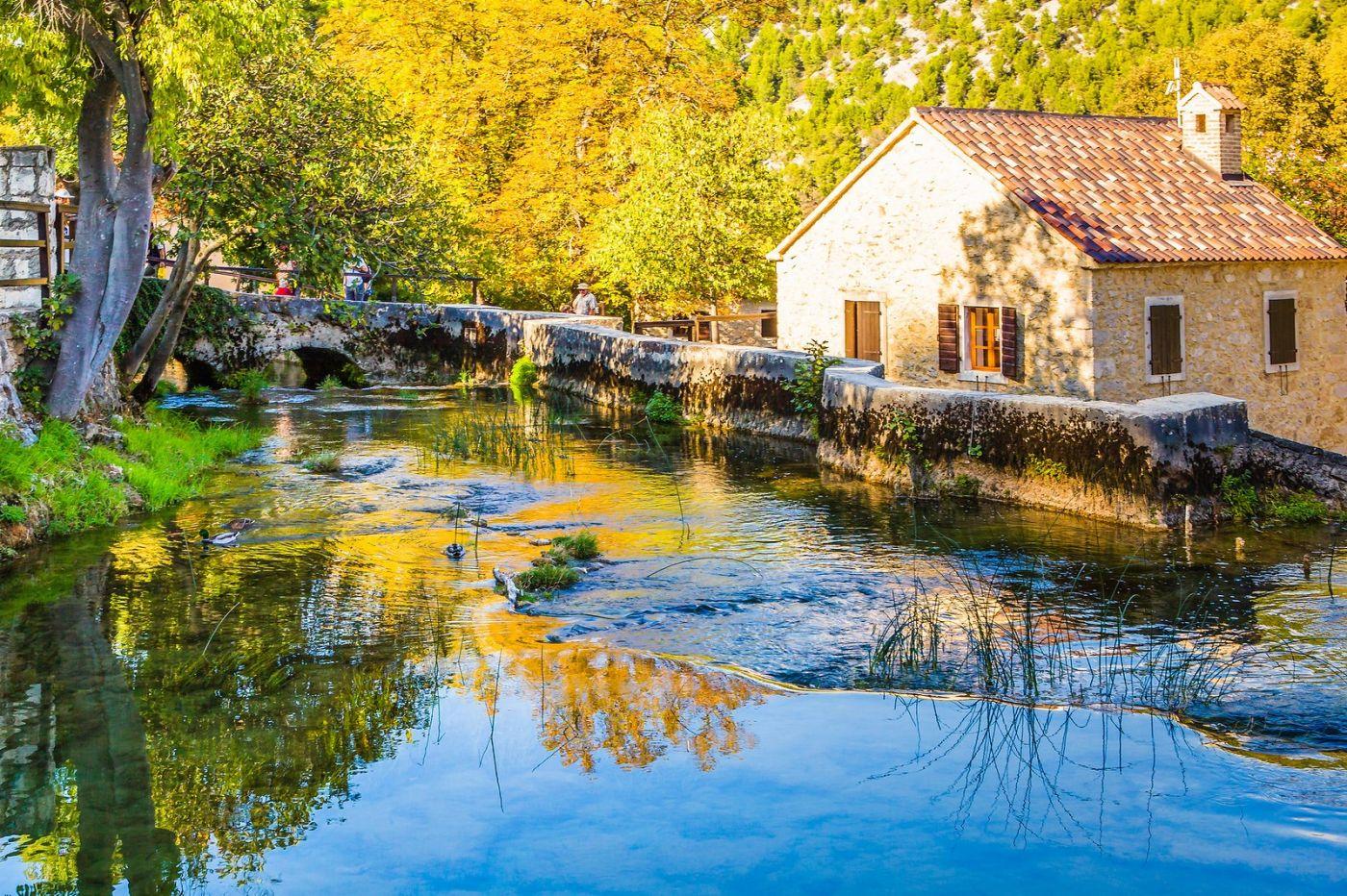 克罗地亚克尔卡国家公园(Krka National Park),小桥小路小房_图1-29