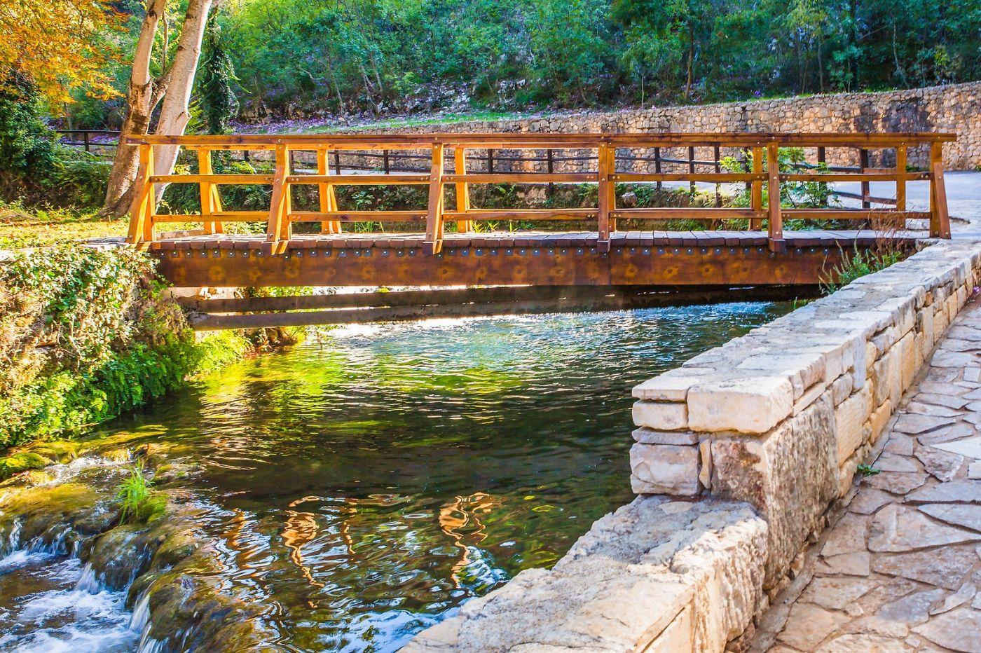 克罗地亚克尔卡国家公园(Krka National Park),小桥小路小房_图1-23