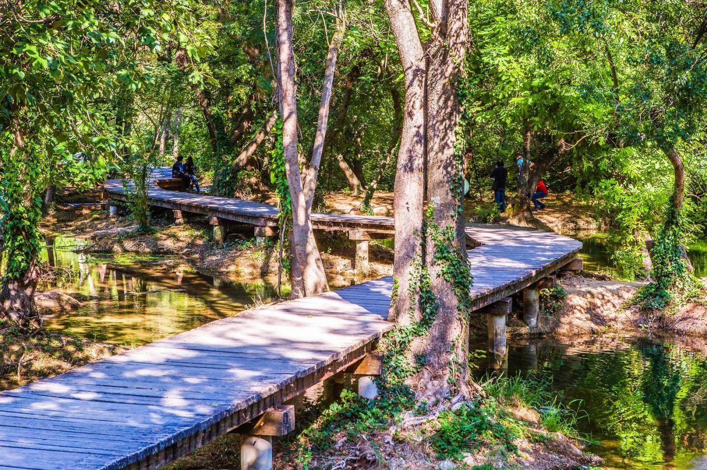 克罗地亚克尔卡国家公园(Krka National Park),小桥小路小房_图1-3