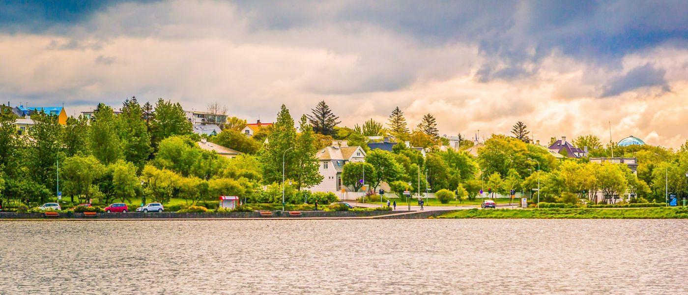 冰岛雷克雅未克(Reykjavík),城中湖_图1-38
